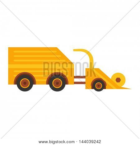 Vehicle tractor farm vector