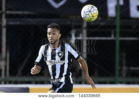 Rio de Janeiro Brazil - july 27 Luis Ricardo during Botafogo x Bragantino valid for the return leg of the 3rd phase of the Brazil Cup held at the Arena Botafogo