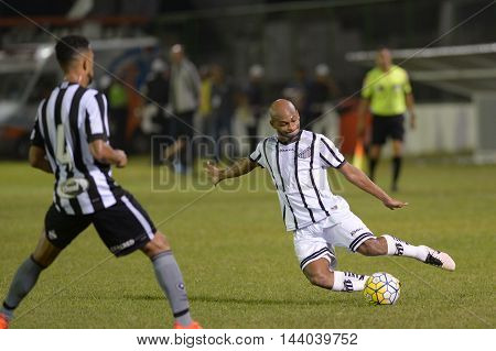 Rio de Janeiro Brazil - july 27 Botafogo x Bragantino valid for the return leg of the 3rd phase of the Brazil Cup held at the Arena Botafogo