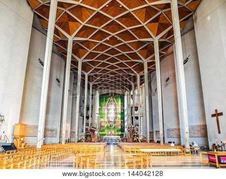 Coventry Cathedral In Coventry (hdr)