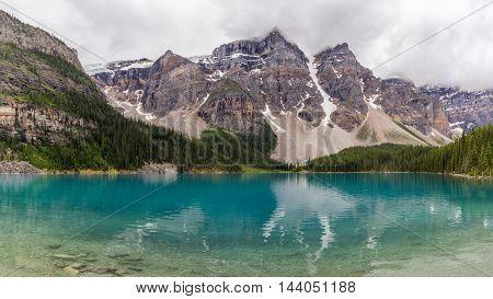 Moraine Lake Banff National Park, Alberta, Canada.