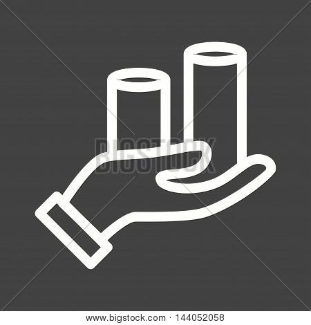 Inflation, economy, finance icon vector image. Can also be used for currency. Suitable for use on web apps, mobile apps and print media.