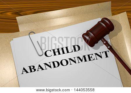 Child Abandonment Concept