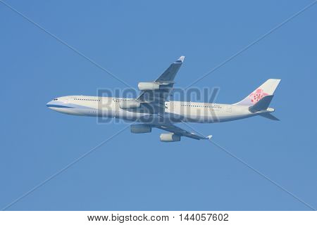B-18806 Airbus A340-300 Of China Airline.