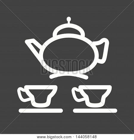 Arabic, tea, coffee icon vector image. Can also be used for islamic. Suitable for mobile apps, web apps and print media.