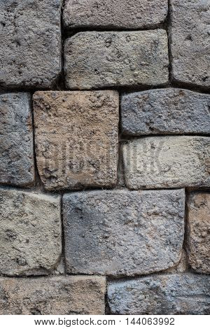 Vertical stone rock wall architecture textured background