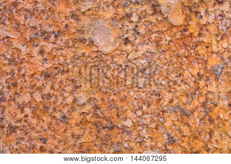 Rusty And Battered Metal Background