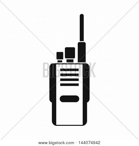 Radio icon in simple style isolated on white background. Communication symbol