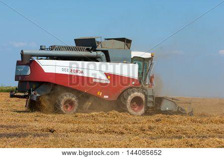 Pea Harvester