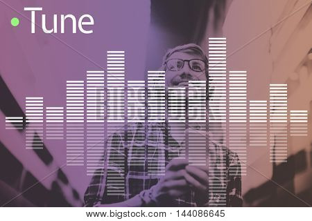 Music Audio Melody Wave Graphic Concept