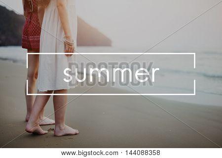 Sport Summer Wellness Scenic Concept