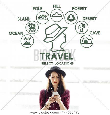 Travel Adventure Explore Journey Experience Concept