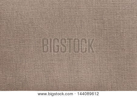 surface of fluted fabric or textile material for the textured wallpaper and for a background of monochrome sepia color