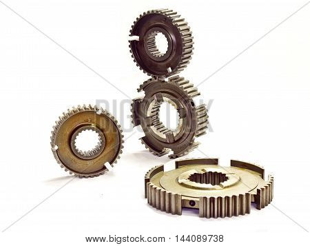 Motor parts image for promotional or commercial use