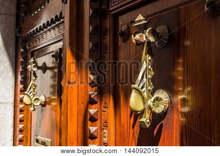 Antique Wooden Door.