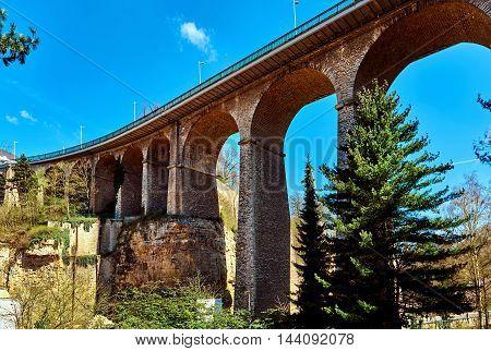 The Passerelle Bridge. Luxembourg
