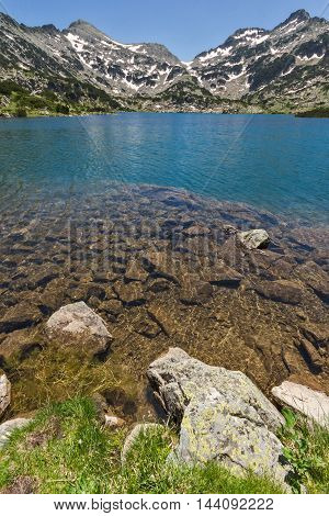 Amazing landscape of Popovo lake, Pirin Mountain, Bulgaria