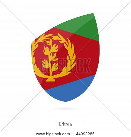 Flag Of Eritrea. Eritrean Rugby Flag.