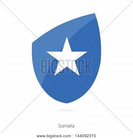 Flag Of Somalia. Somalian Rugby Flag.