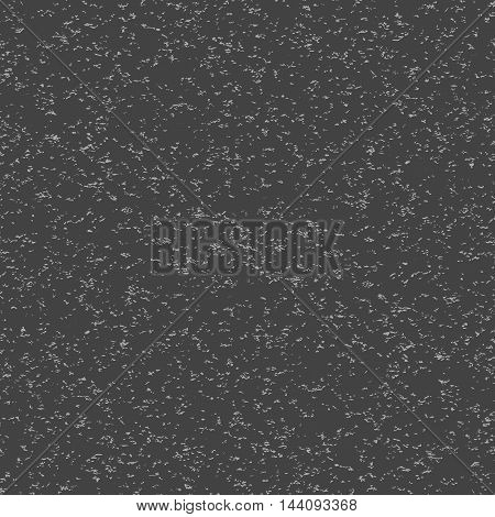 Seamless background of gray noise on black background. Vector illustration