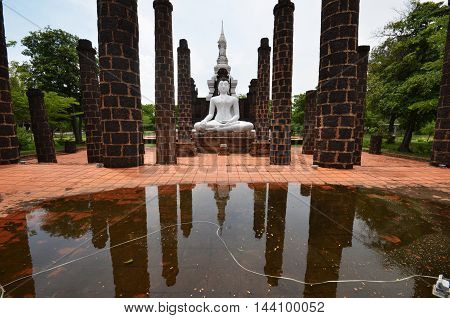 The Historical Old Town Of Sukhothai, Thailand