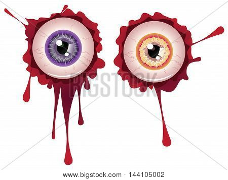 Halloween Bloody Eyeball