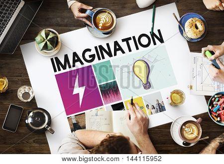 Brainstrom Ideas Teamwork Explore Concept