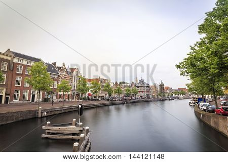 Haarlem By The Canal, The Netherlands