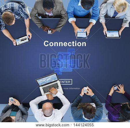 Connection Internet Online Website Web Page Concept