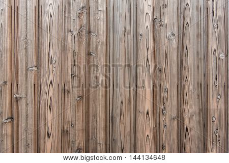 weathered beautiful pattern pine wood plank wall texture with nail head