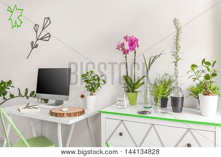 Home Office With Good Energy