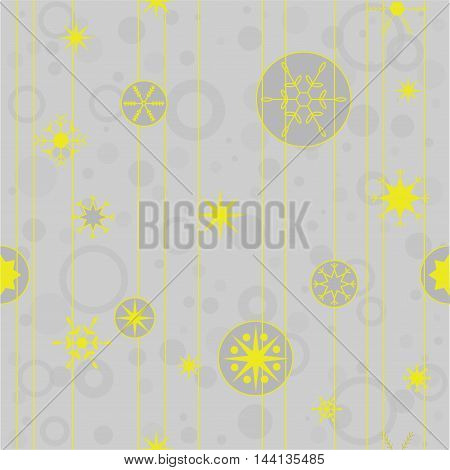 Vector seamless pattern for Christmas cards invitations backgrounds and more.