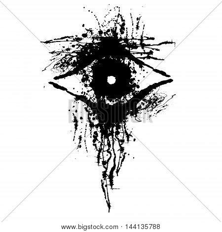 Vector Hand Drawn Eye