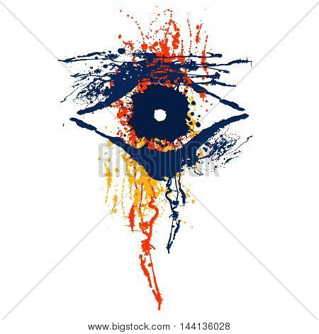 Vector Hand Drawn Eye