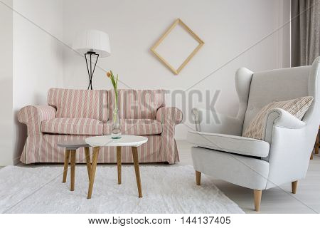 Living Room With Good Atmosphere