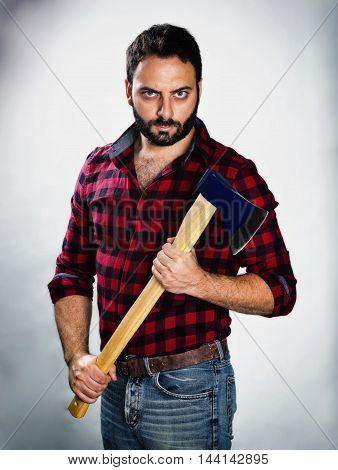 Lumberjack With Dark Style