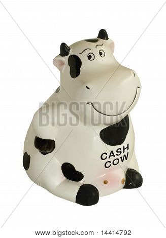 Cash Cow Piggy Bank.