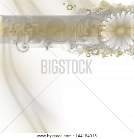 Stylish card, elegant golden design. Vintage.Luxury wedding invitation.Romantic flower, background.