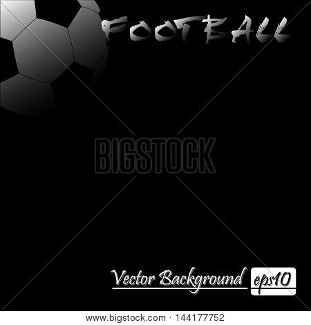 Vector Illustration Of Footbal