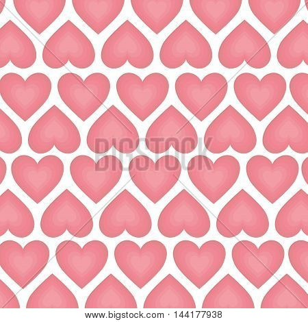 background of heart love romantic passion romance vector illustration