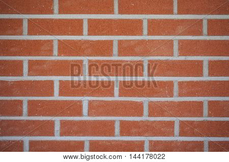 Perfect multi purpose red brick wall background