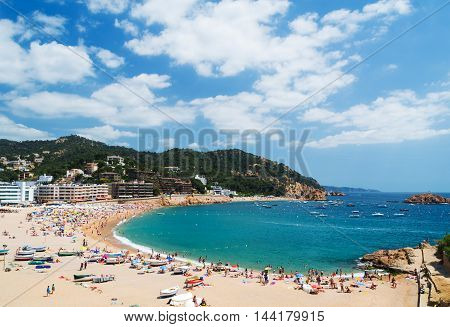 Tossa De Mar. Costa Brava, Catalonia, Spain