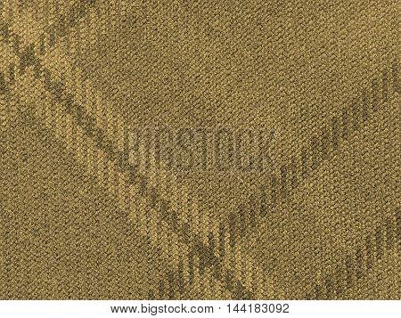 Tartan Fabric Background Sepia