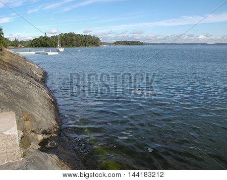 Lake In Stockholm