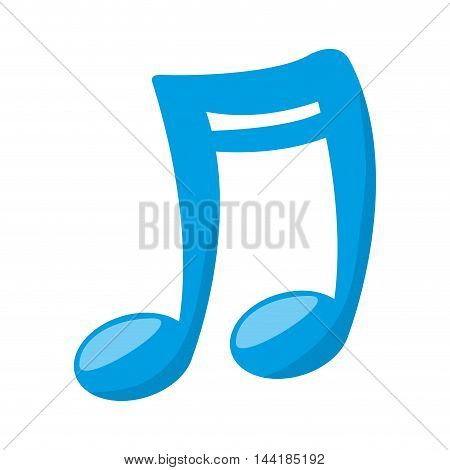 music note melody musical music sound vector illustration
