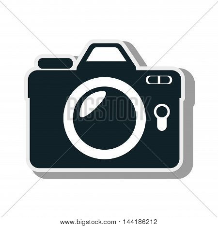 camera and photography technology device equipment vector illustration