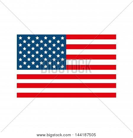 usa united states of america flag patriot symbol vector illustration