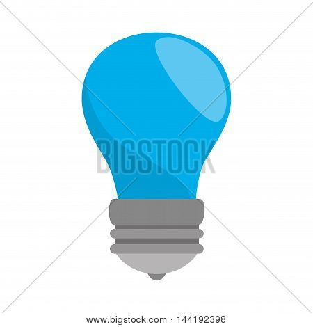 bulb power energy light bright electricity  vector illustration