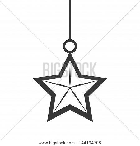 star  decoration sign object symbol silhouette vector illustration