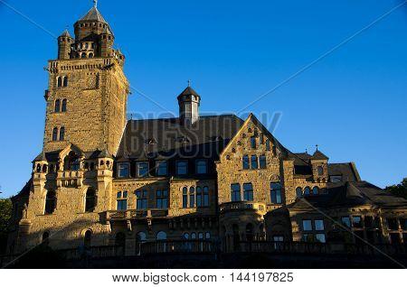 Schloss Waldthausen in Budenheim near Mainz, Germany